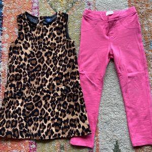 3T dress and pants bundle